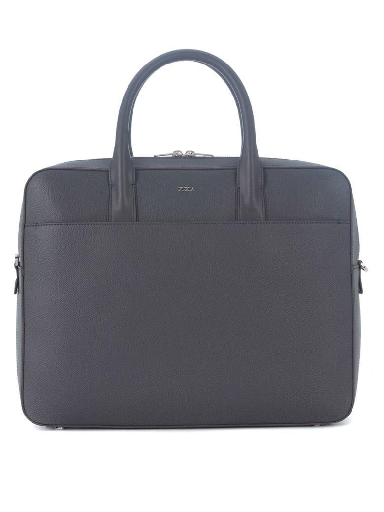 Furla Bags Furla Marte Dark Grey Briefcase