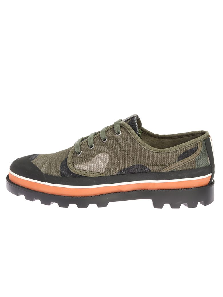 VALENTINO Camouflage Canvas Shoes in Multi