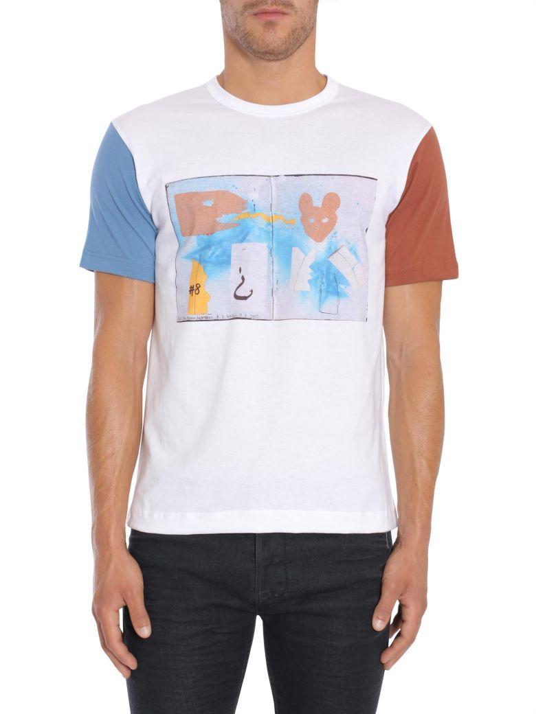 Comme Des Garçons Shirt  MASAHO PRINT T-SHIRT