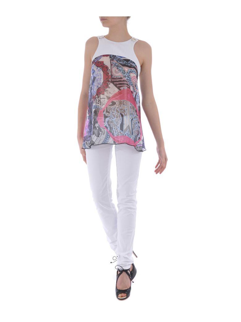 Versace Versace Jeans Cady Printed Top