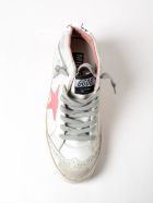 Golden Goose Sneakers Mid Star Pink Patent