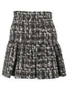 Dolce & Gabbana Mouline Knitted Skirt