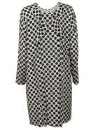 MSGM Polka Dots Printed Dress