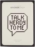 Anya Hindmarch Talk Nerdy Oversized Sticker