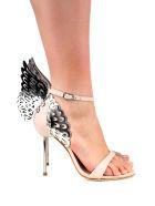 Sophia Webster Evangeline Angel-wings Leather Sandals