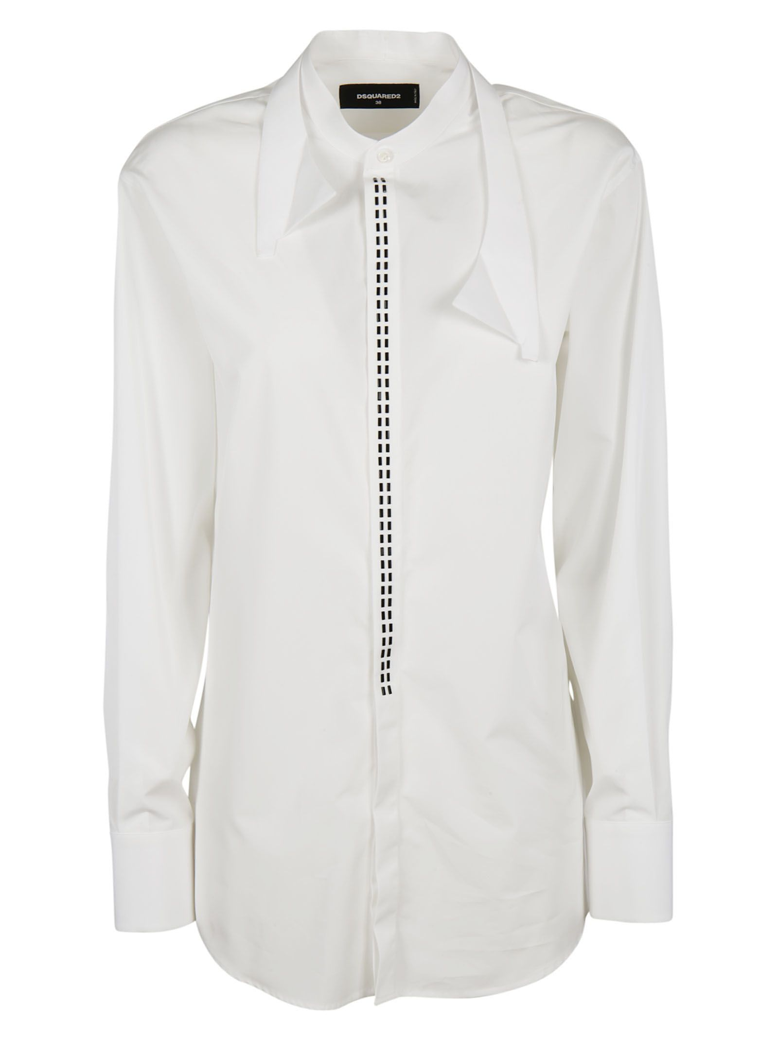 Dsquared2 deconstructed collar shirt Clearance Online Official Site DTvESo7