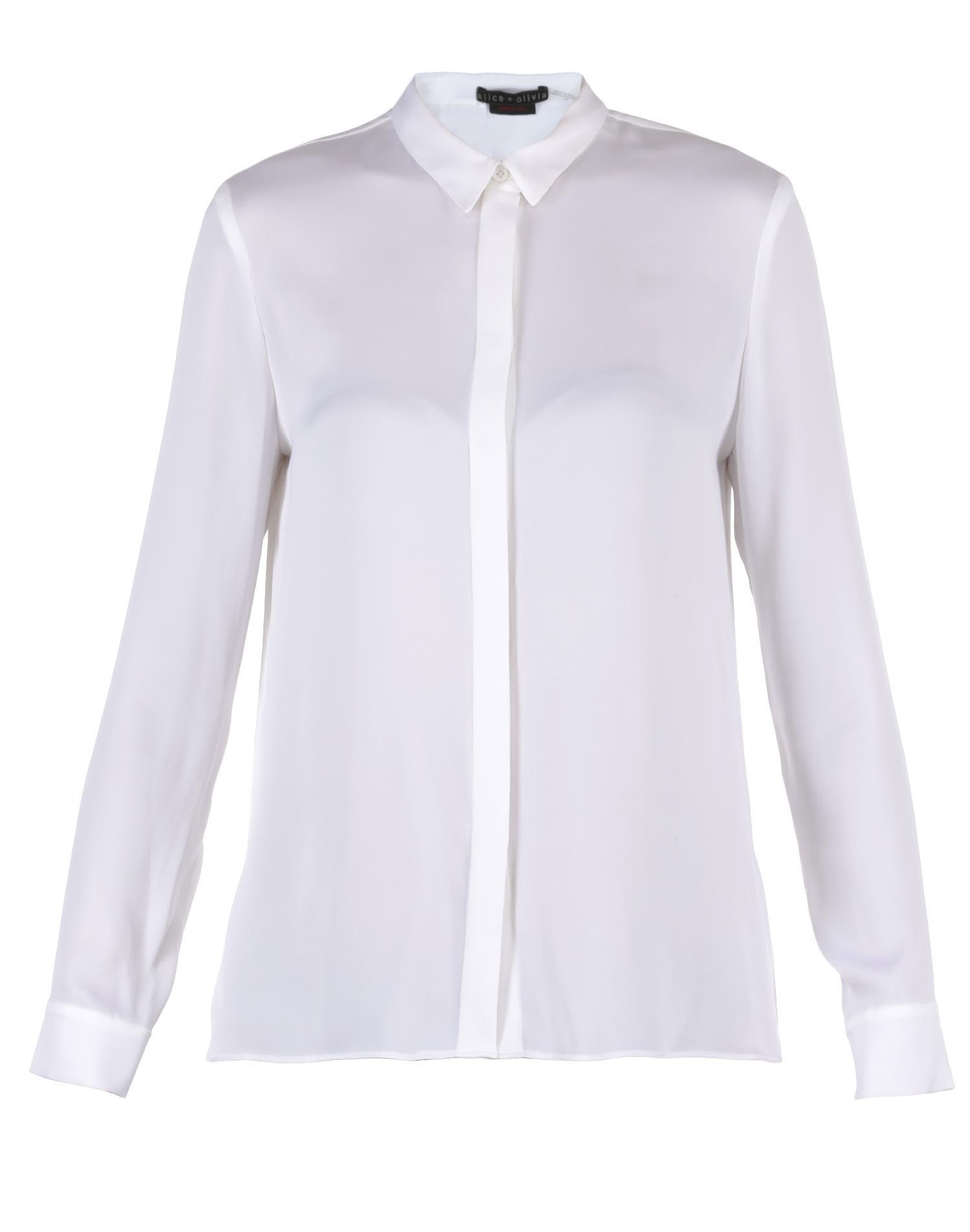 Alice + Olivia Silk Shirt