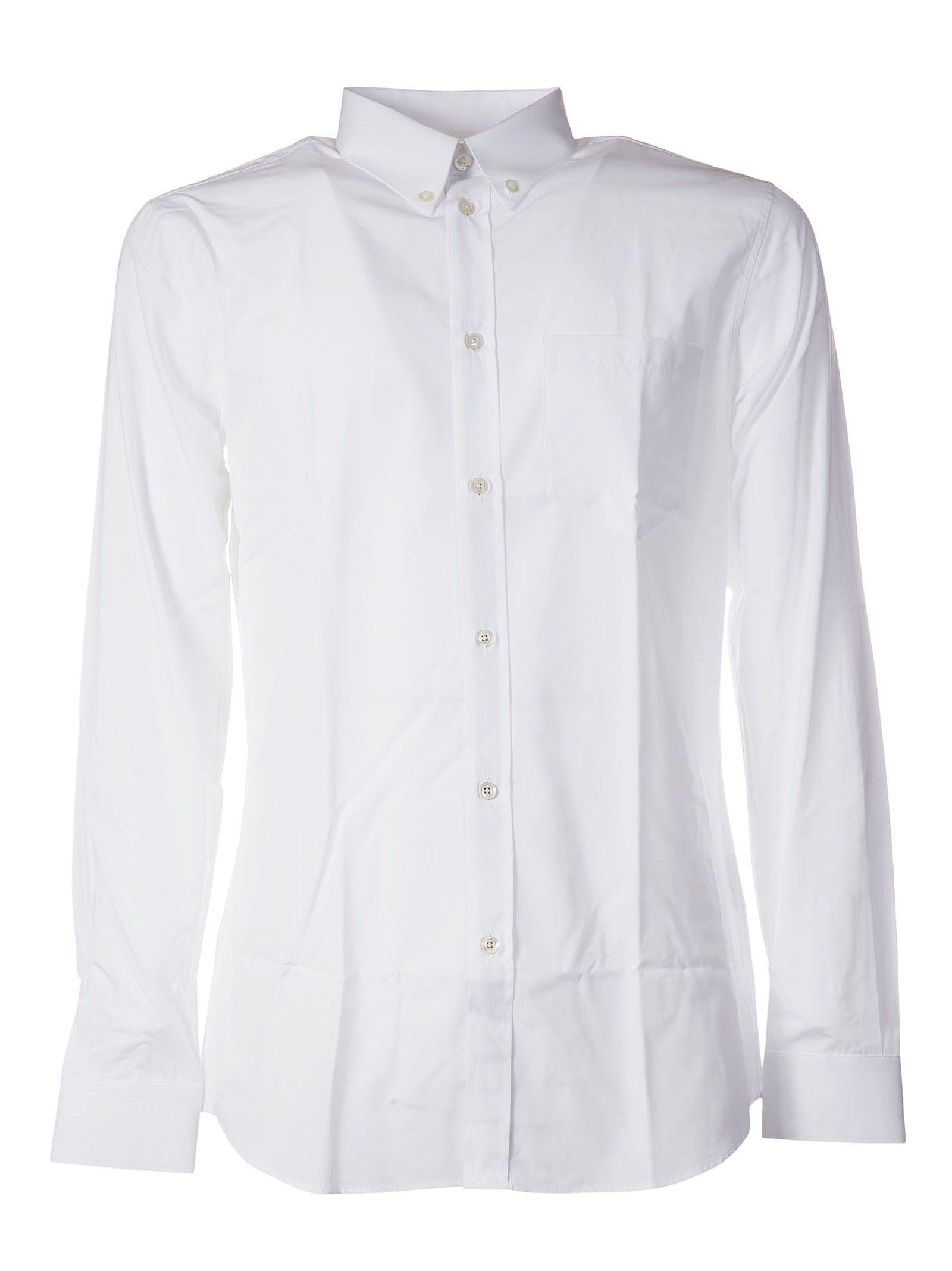 Givenchy Striped Trim Classic Shirt