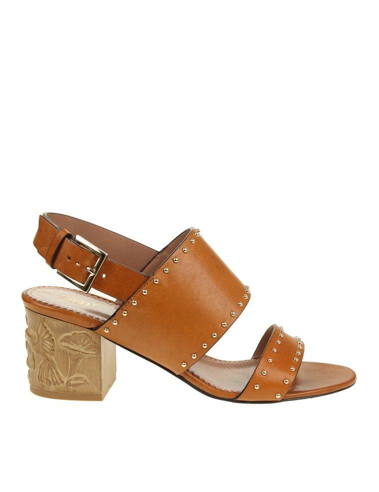 Red Valentino Brown Sandals