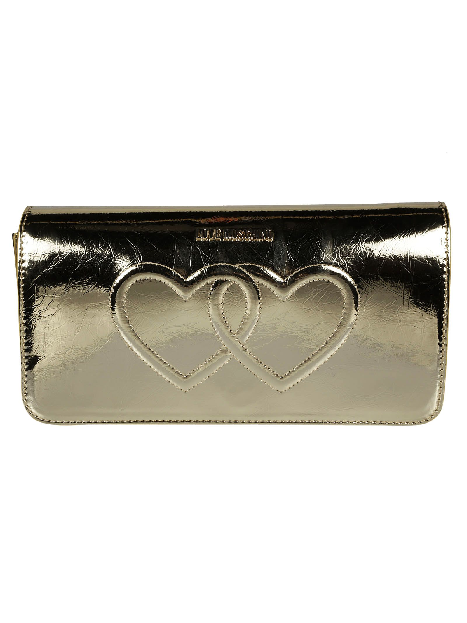 Love Moschino Interlocked Hearts Shoulder Bag