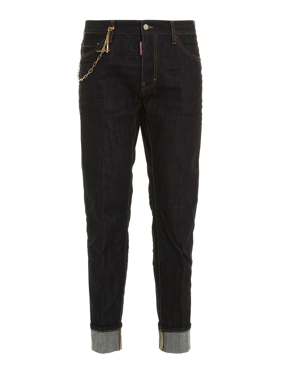 Dsquared2 Cool Guy Chain Trim Jeans