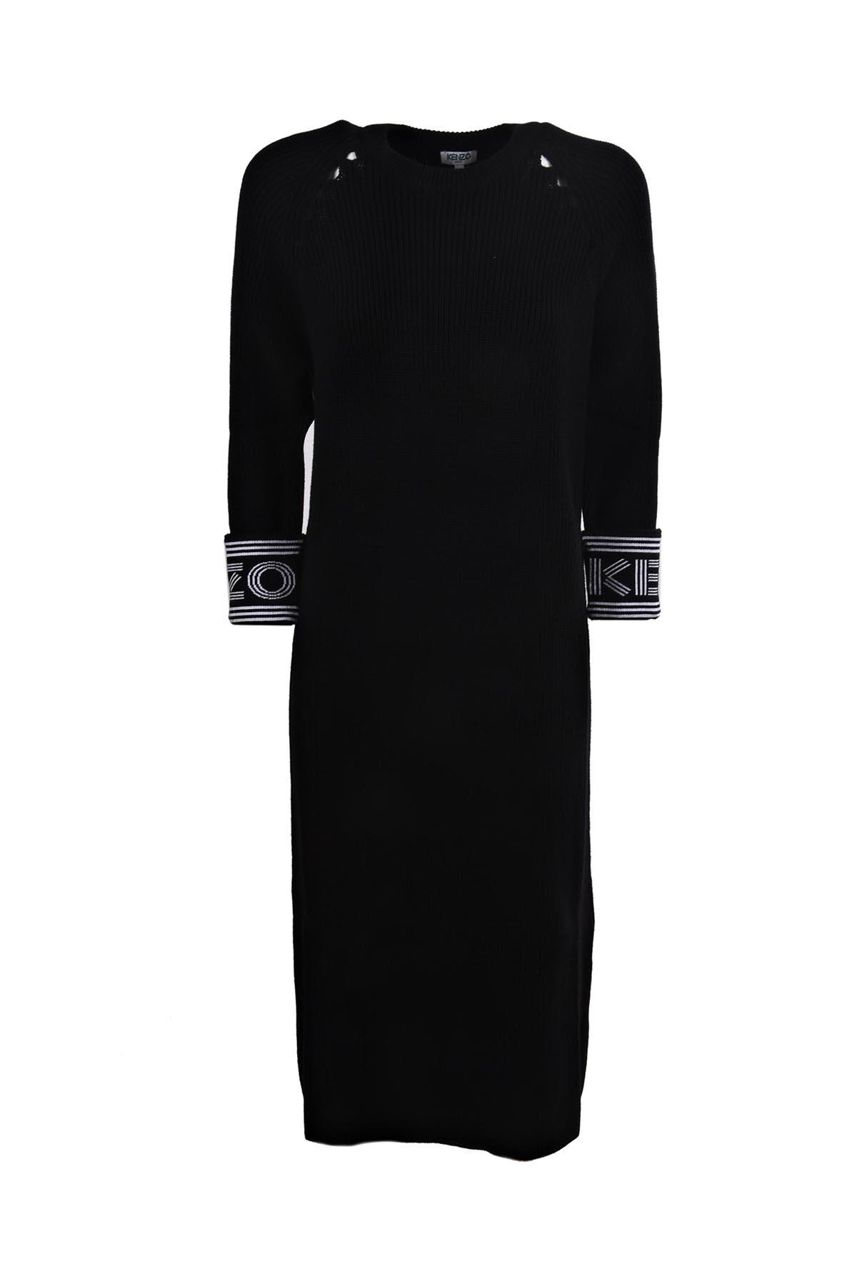 Kenzo Rib-knit Midi Dress
