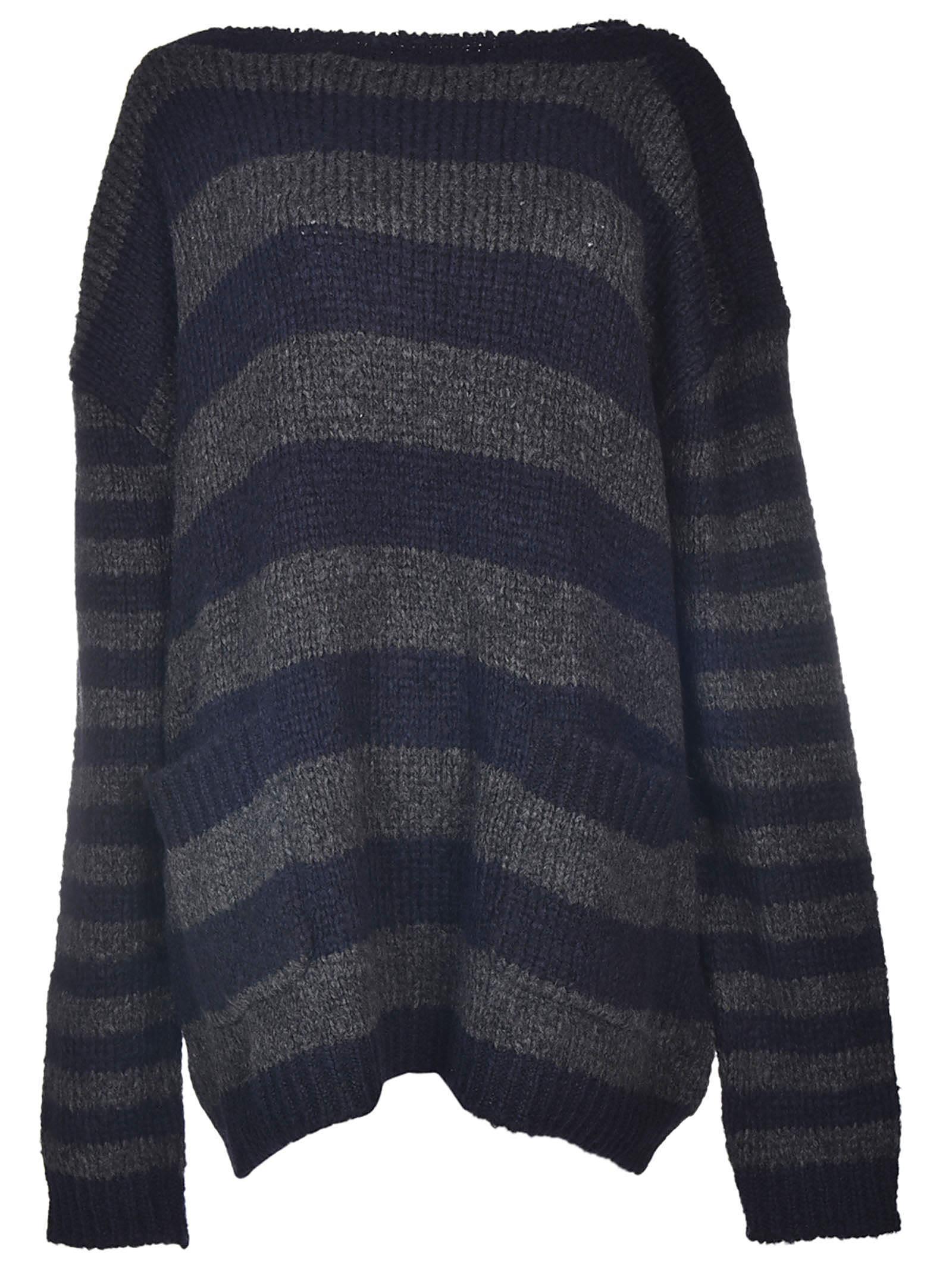 Faith Connexion Oversized Striped Sweater