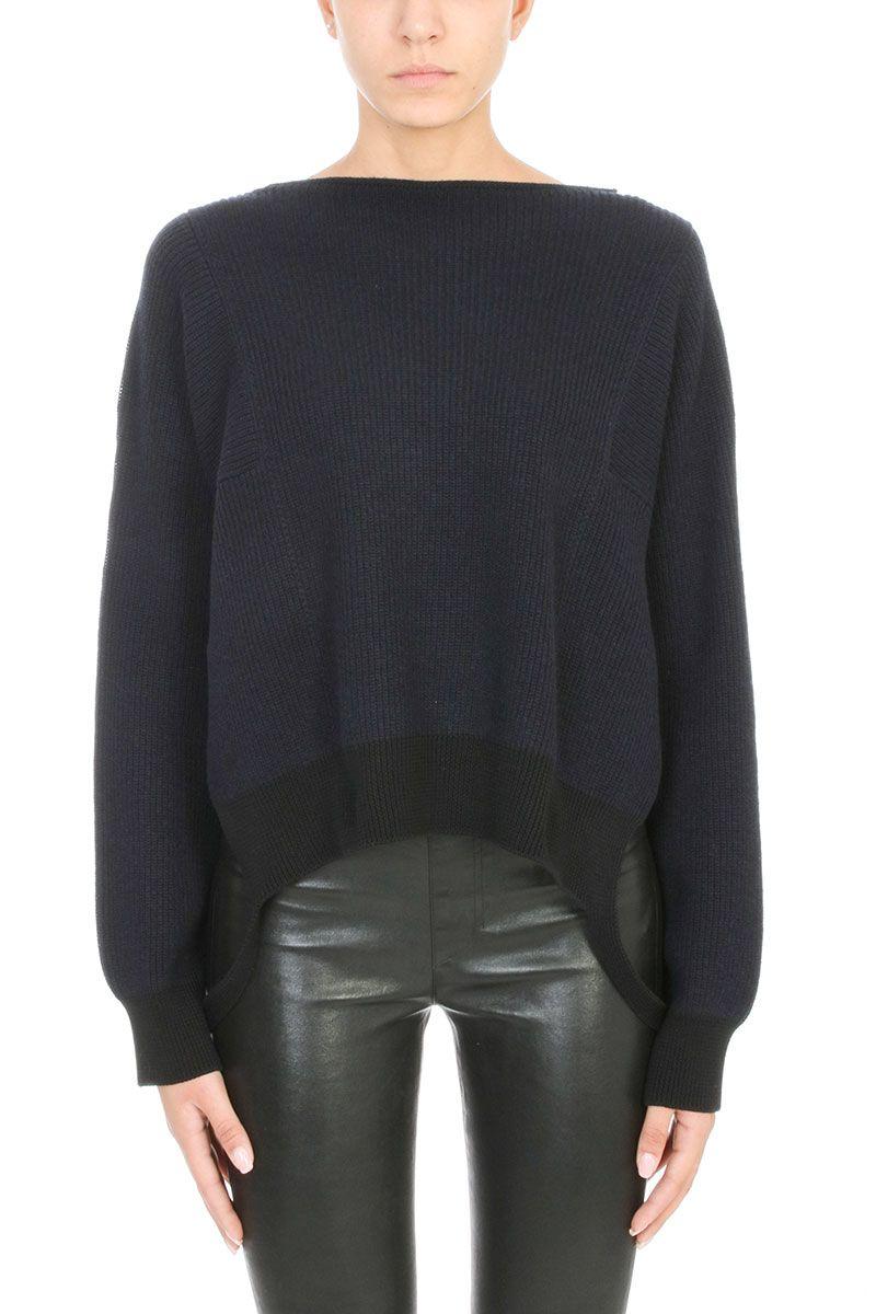 Helmut Lang Essential Side Strap Sweater