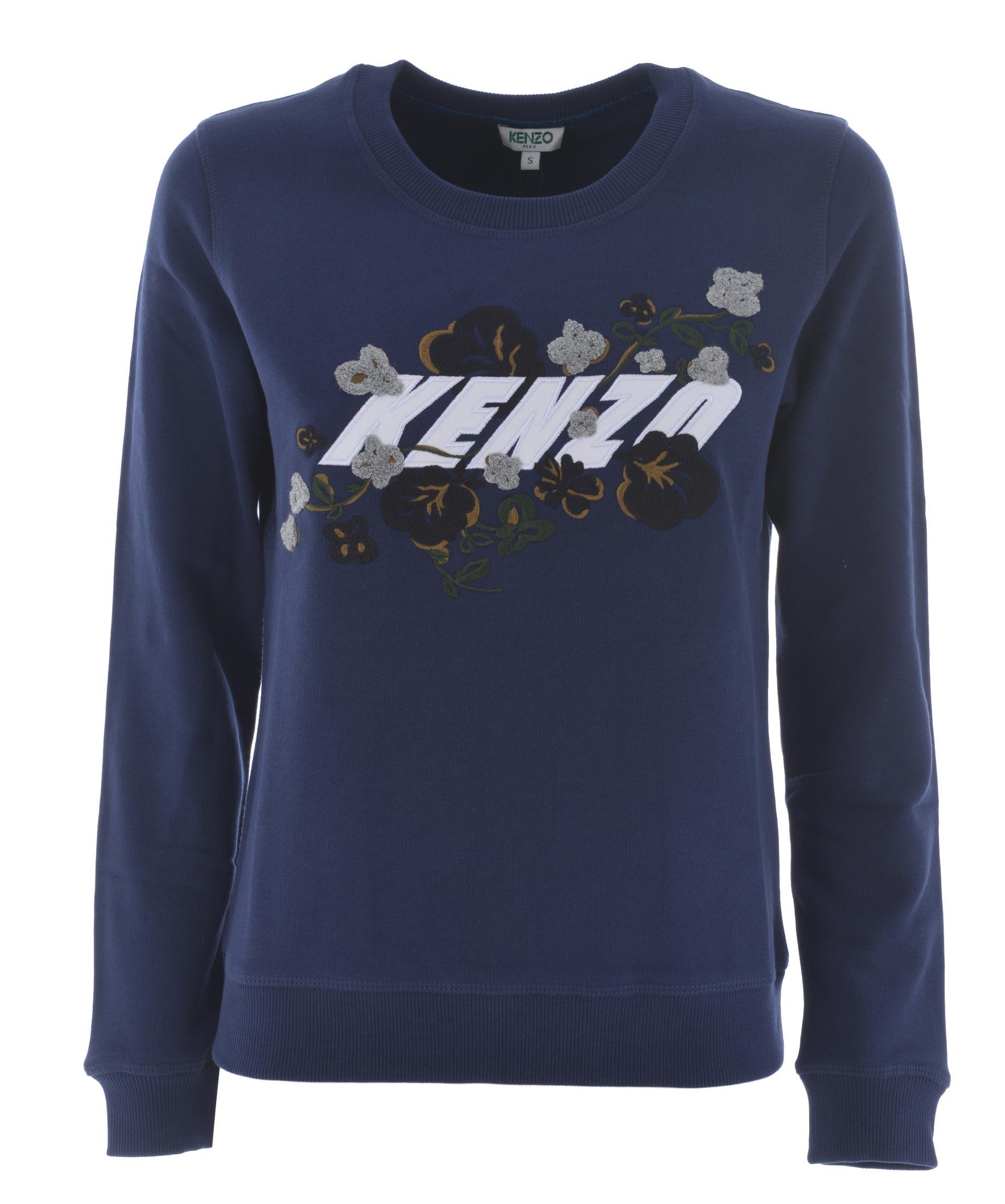 Kenzo Floral Leaf Sweatshirt