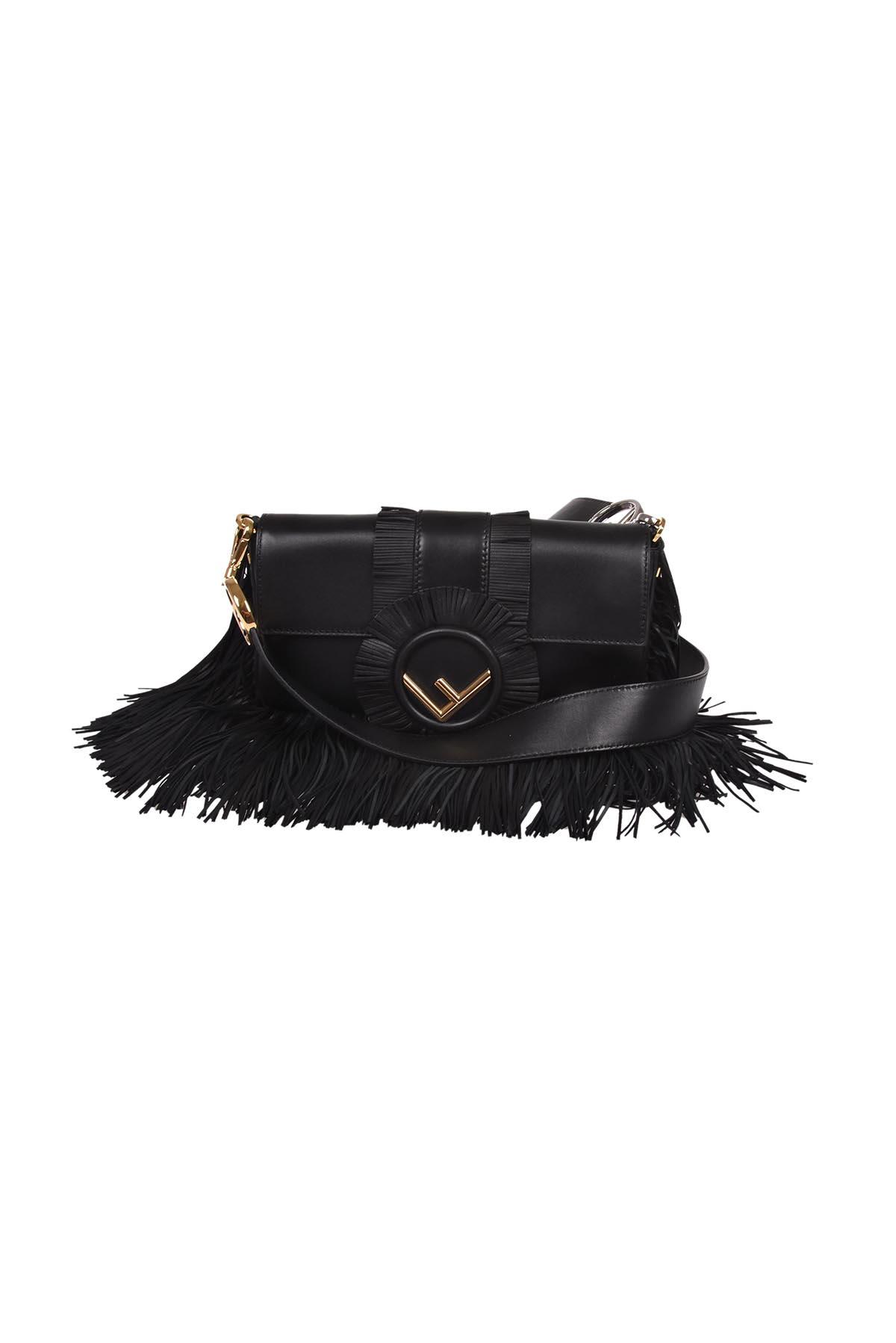 Fendi Baguette Fringed Bag