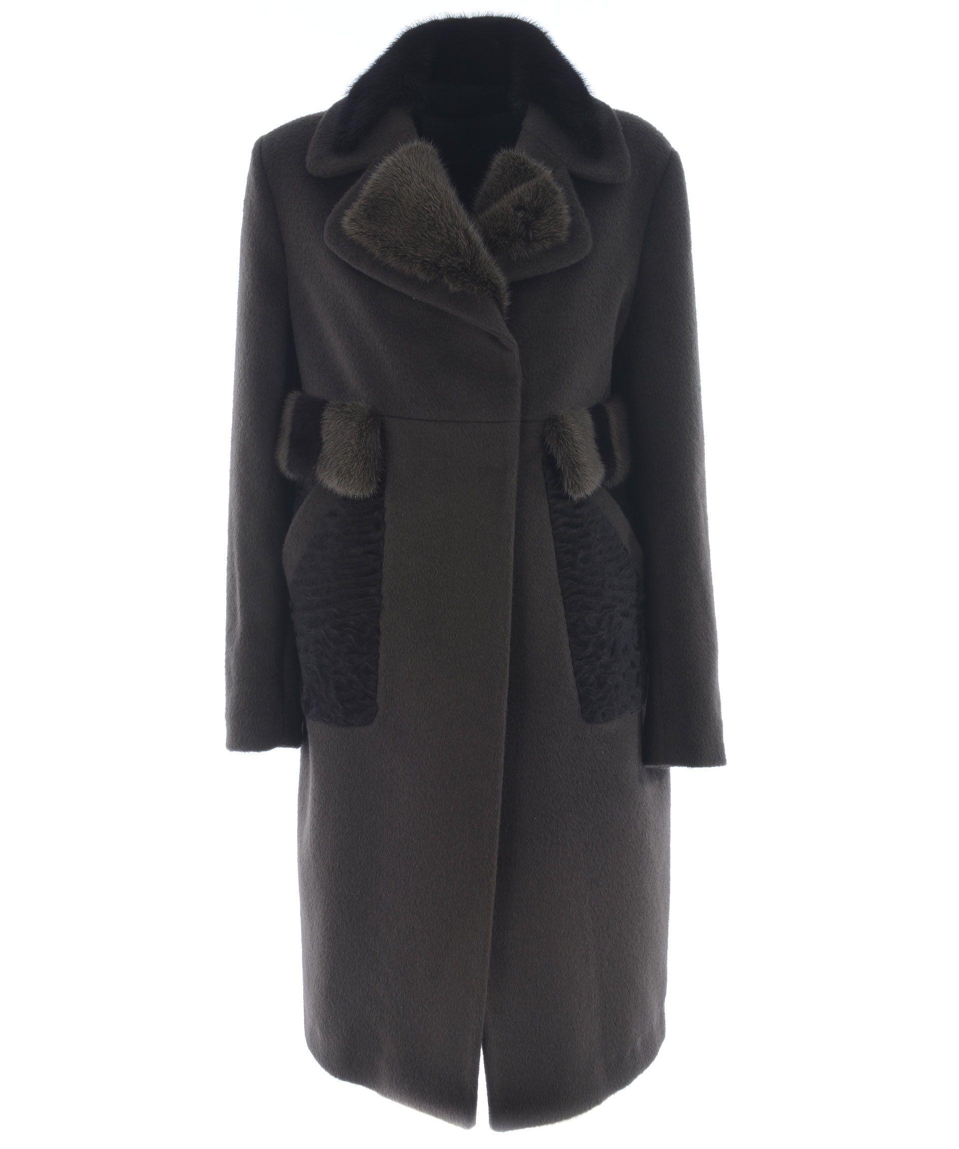 Blancha Furred Detail Coat