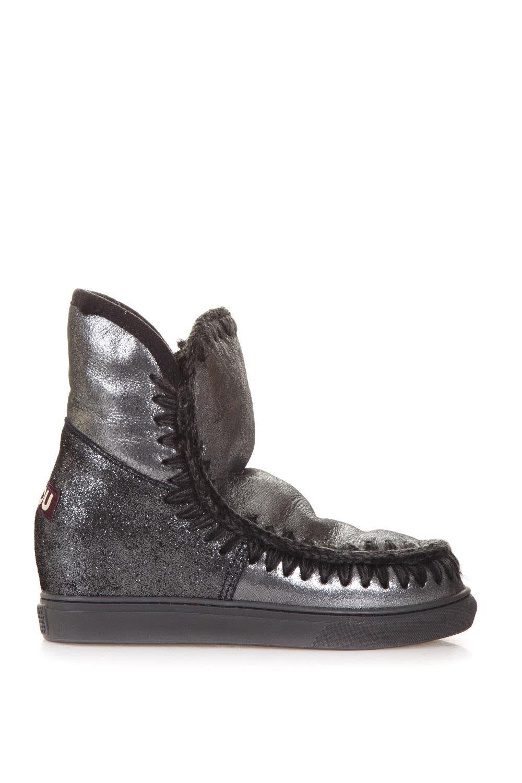 Mou 70mm Eskimo Glitter Sheepskin Boots