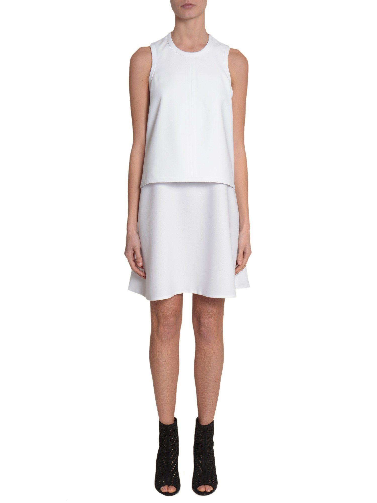 Crew-neck Dress