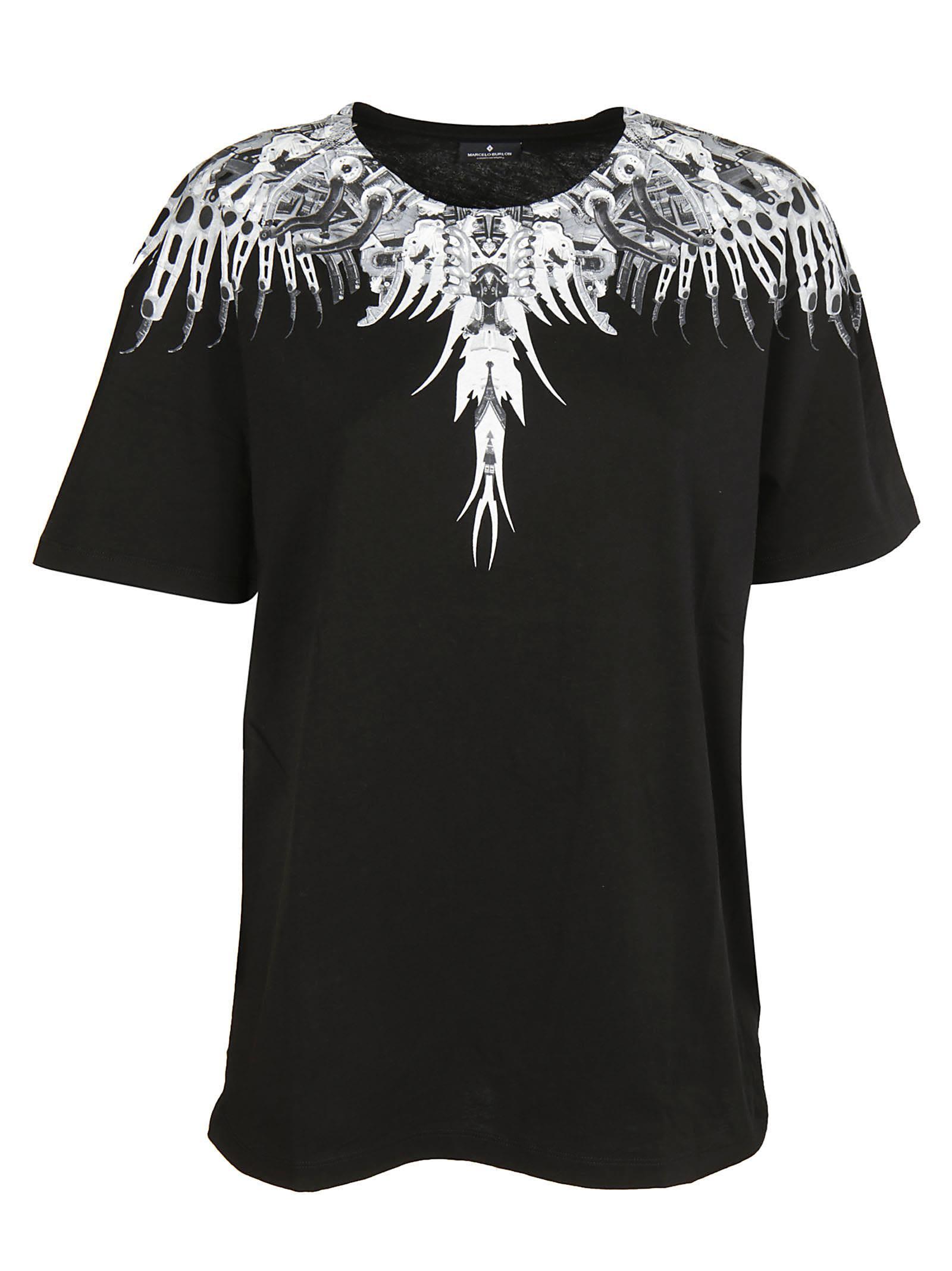Marcelo Burlon Biomechanical Print T-shirt
