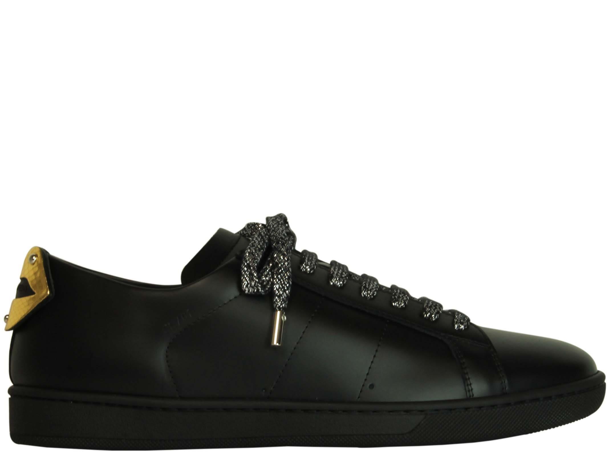 Saint Laurent Black Moon Low Sneakers
