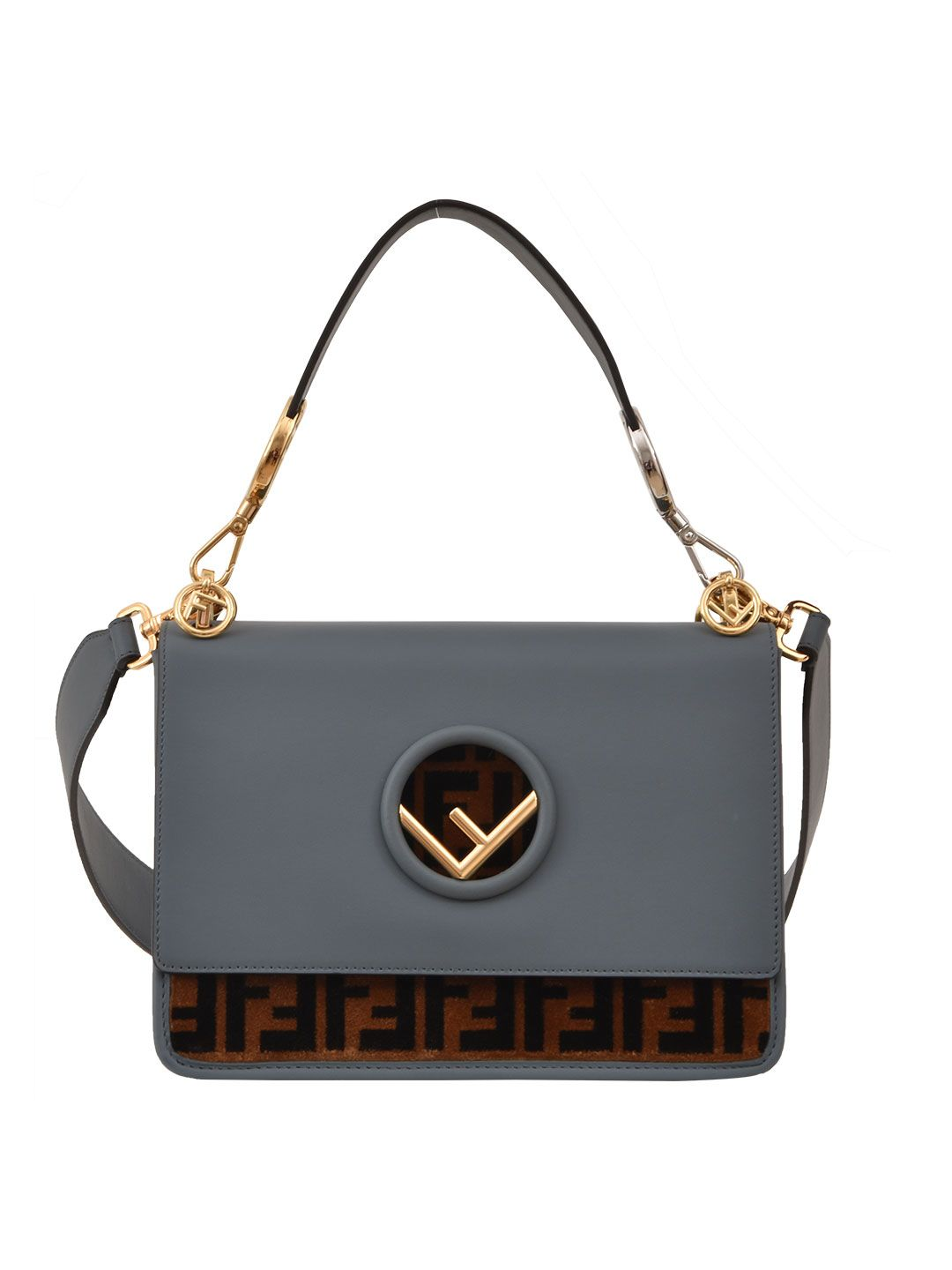 Fendi Kan I Logo Bag