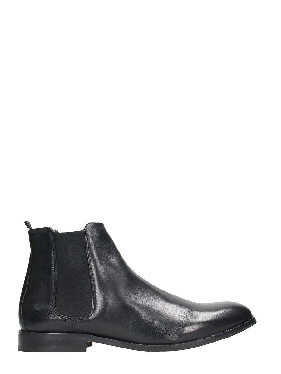 Royal Republiq Black Chelsea Leather Boots