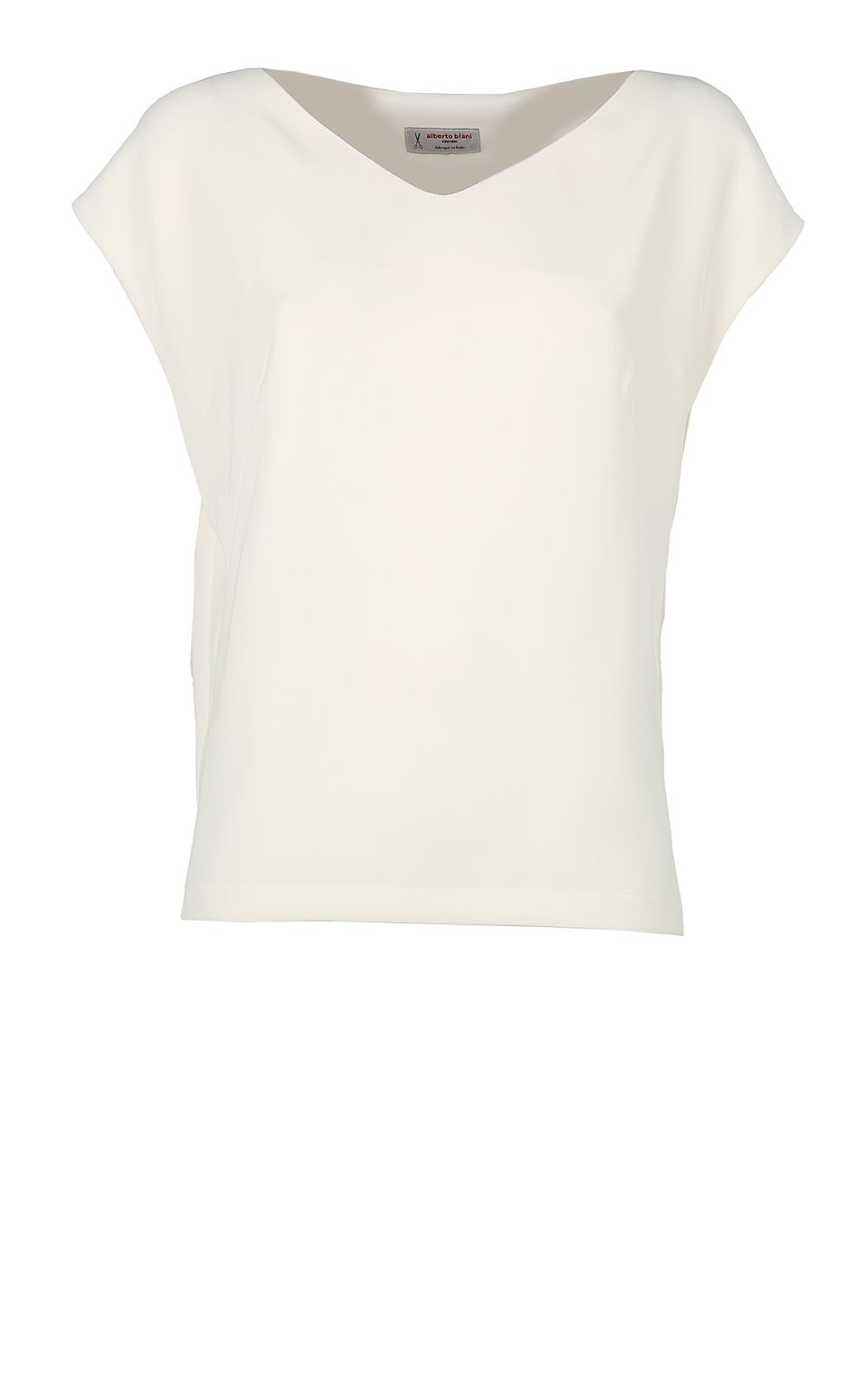 Alberto Biani Stretch-crepe Blouse