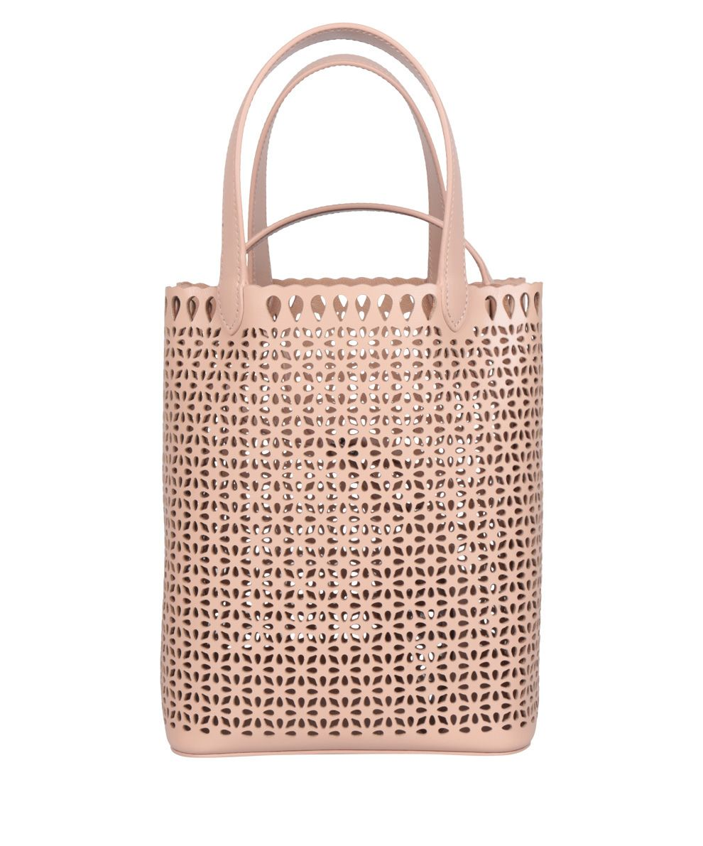 Alaia Laser-cut Leather Bag