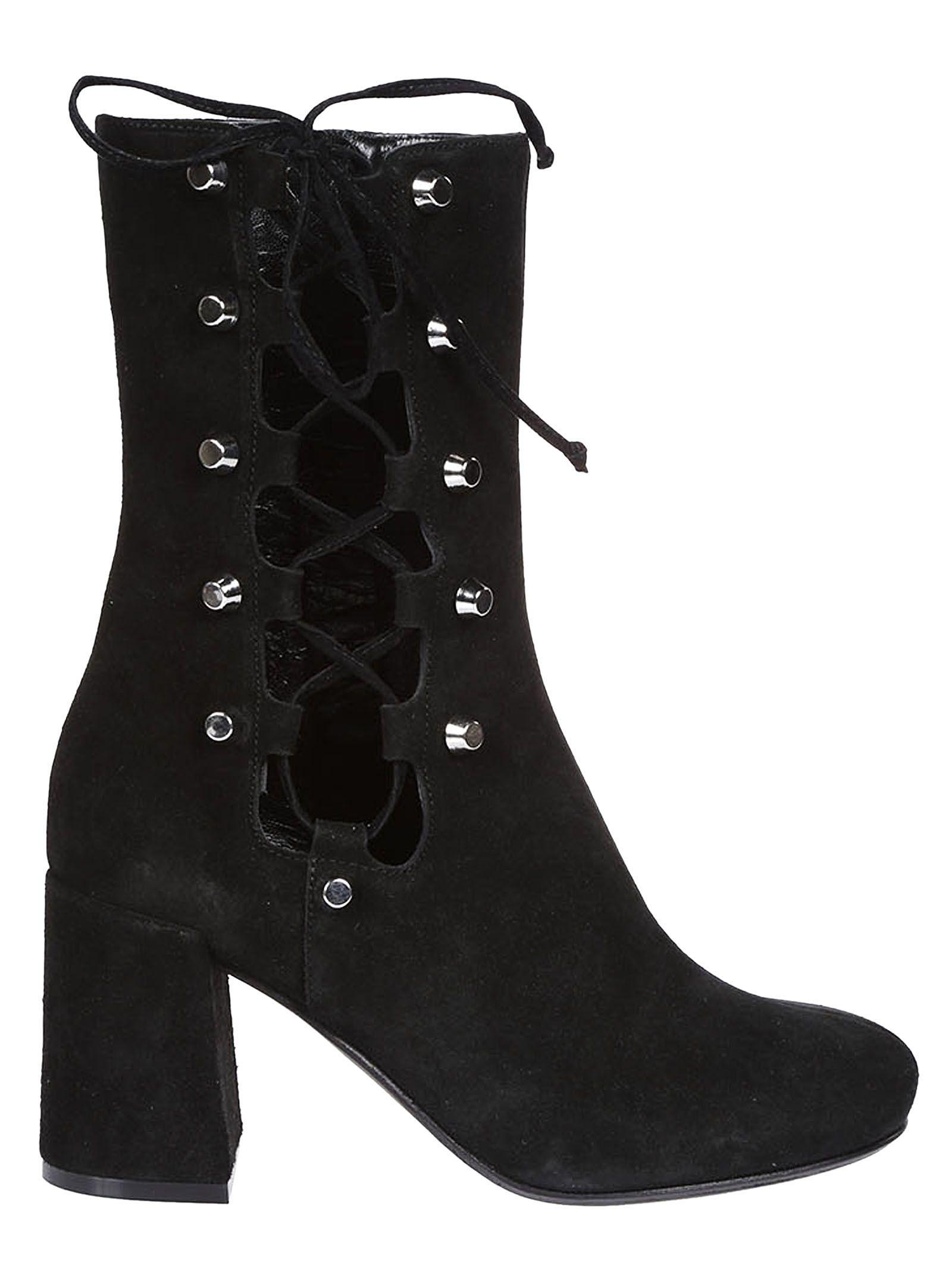 Mcq Alexander Mcqueen Side Lace Pembury Boots