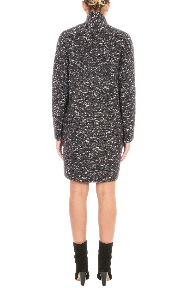 Isabel Marant Etoile - Isabel Marant Etoile Osbert Oversized Coat - blue, Women's Coats | Italist