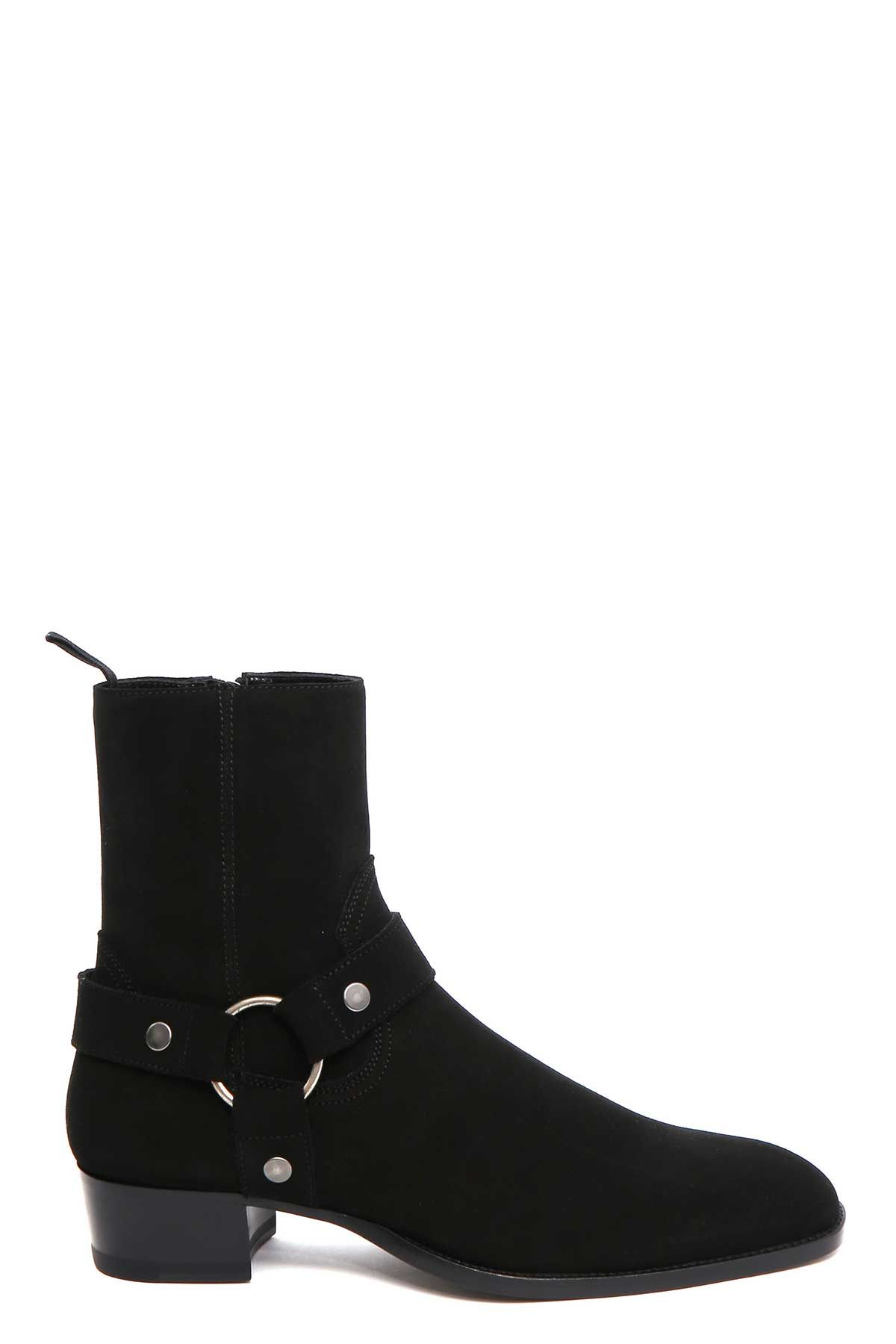 Saint Laurent wyatt Suede Boots