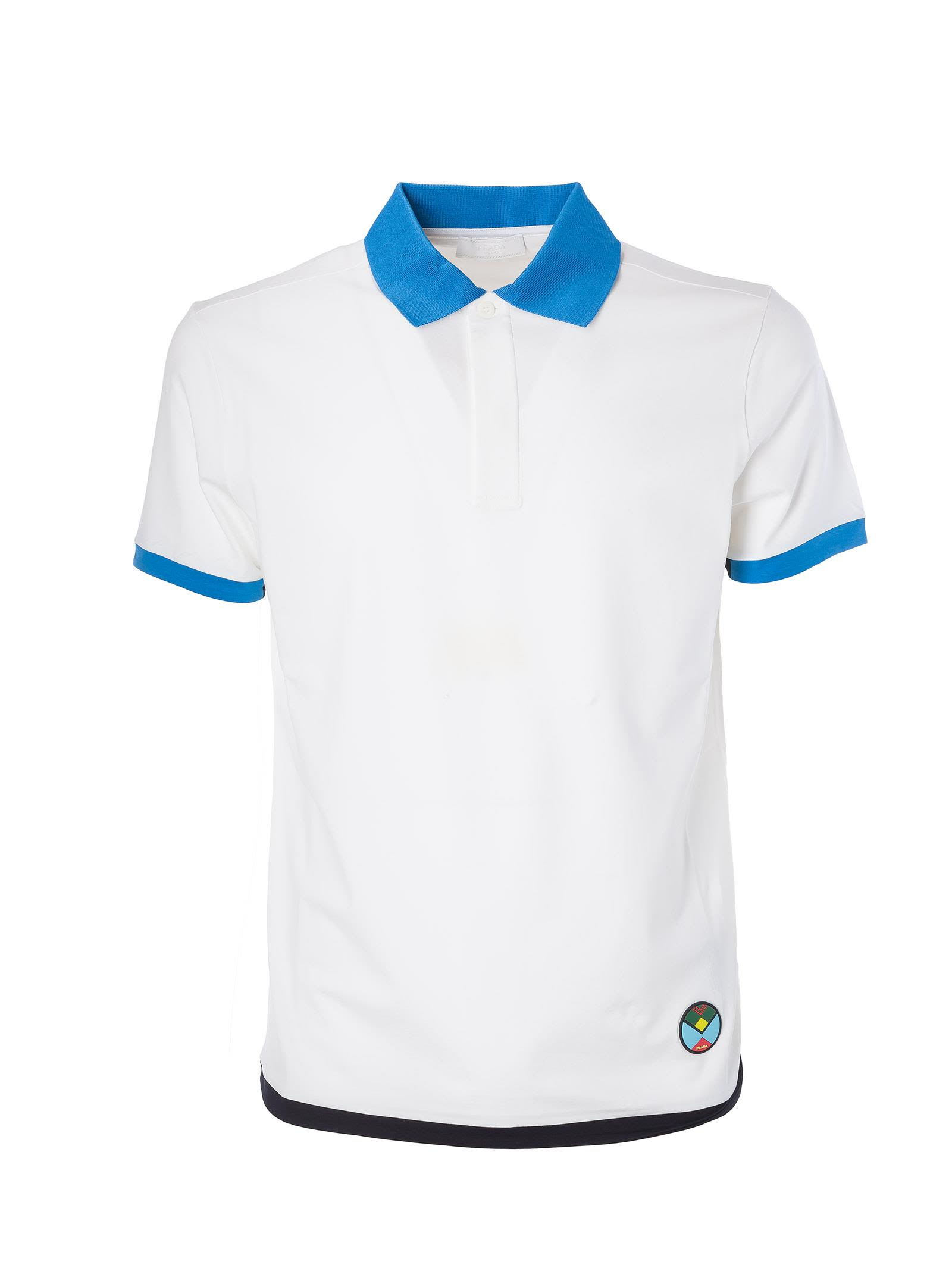 Prada Stretch Polo Shirt