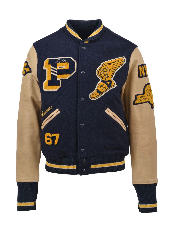 Polo Ralph Lauren College Bomber Jacket