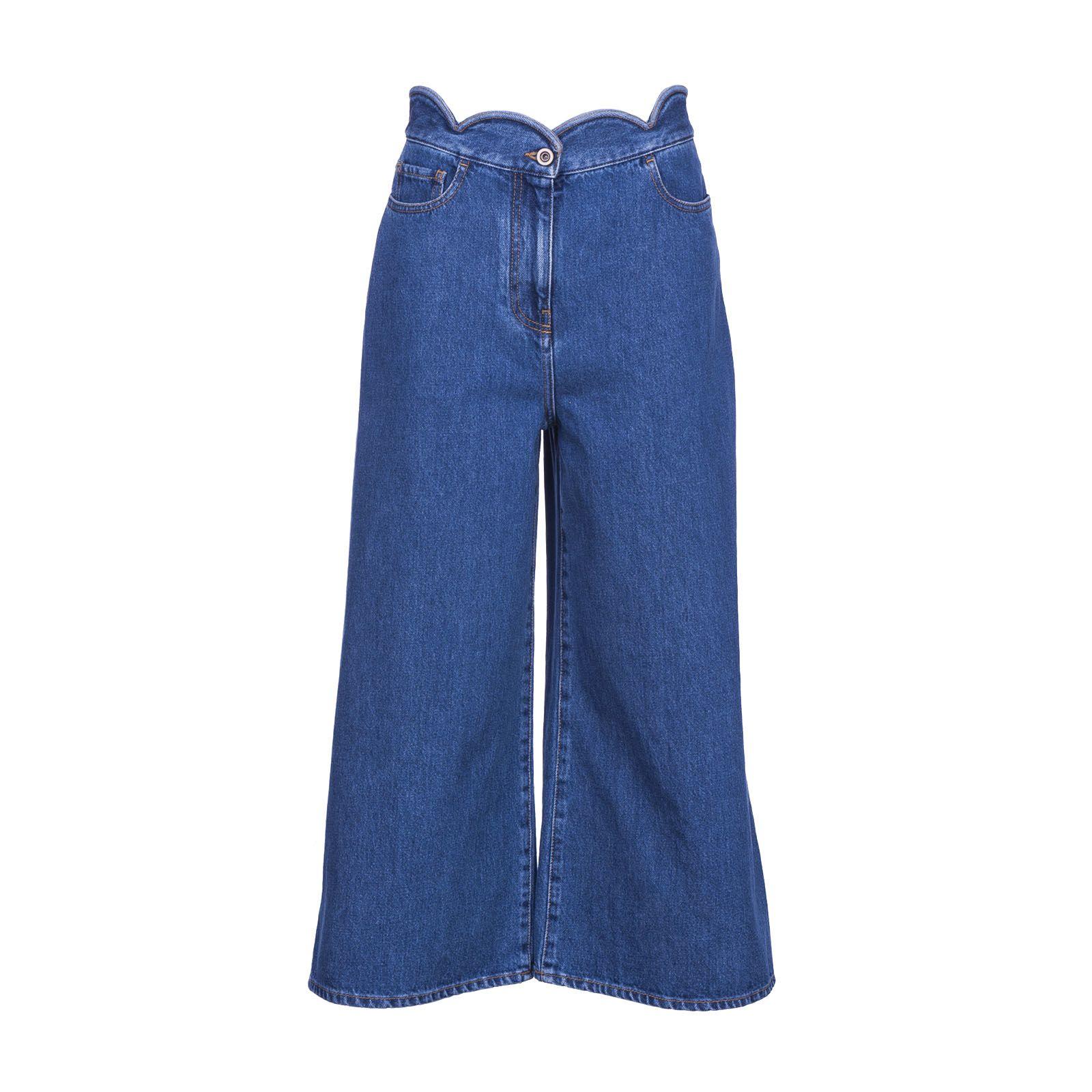 Valentino Culotte Denim Jeans