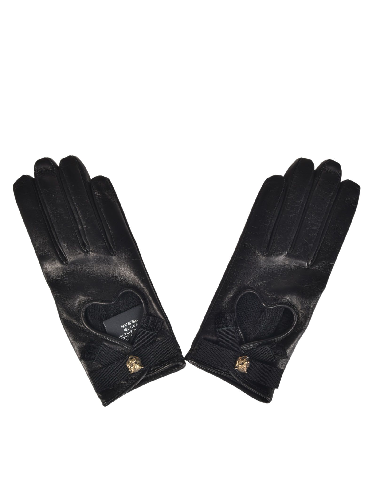 Gucci Grosgrain Bow Gloves