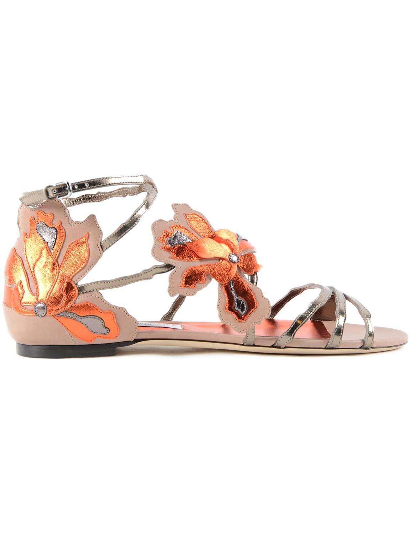 Jimmy Choo Lolita Flat Sandals