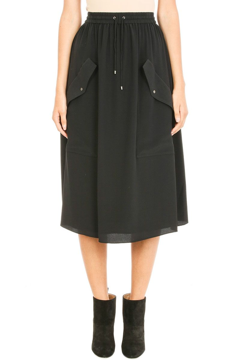 Kenzo Soft Crepe Light Weigth Skirt