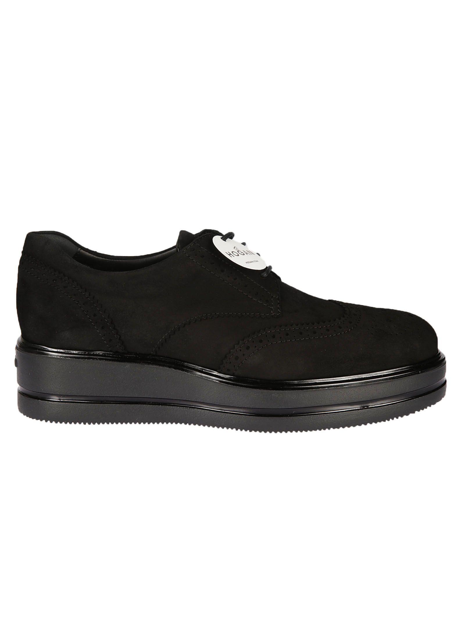 Hogan Brogue Platform Lace-up Shoes