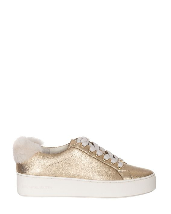 Michael Kors Poppy Metallic Sneakers