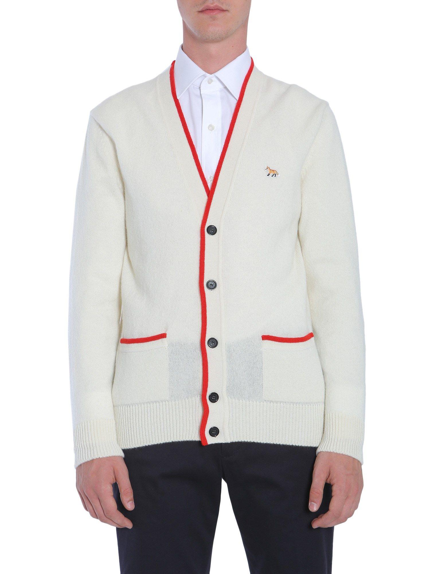 V Collar Cardigan