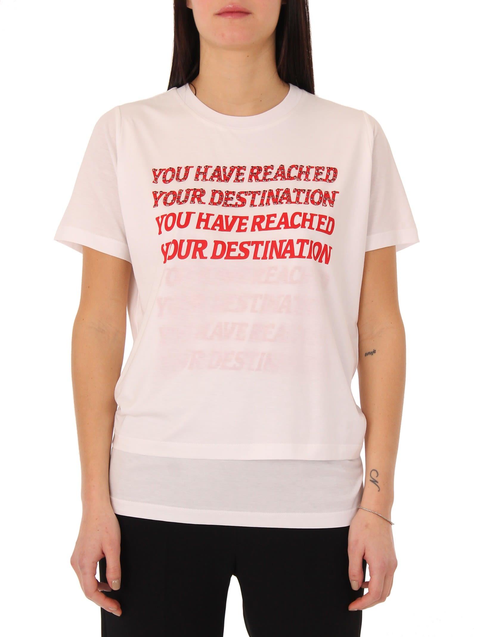 Stella McCartney White Destination T-shirt