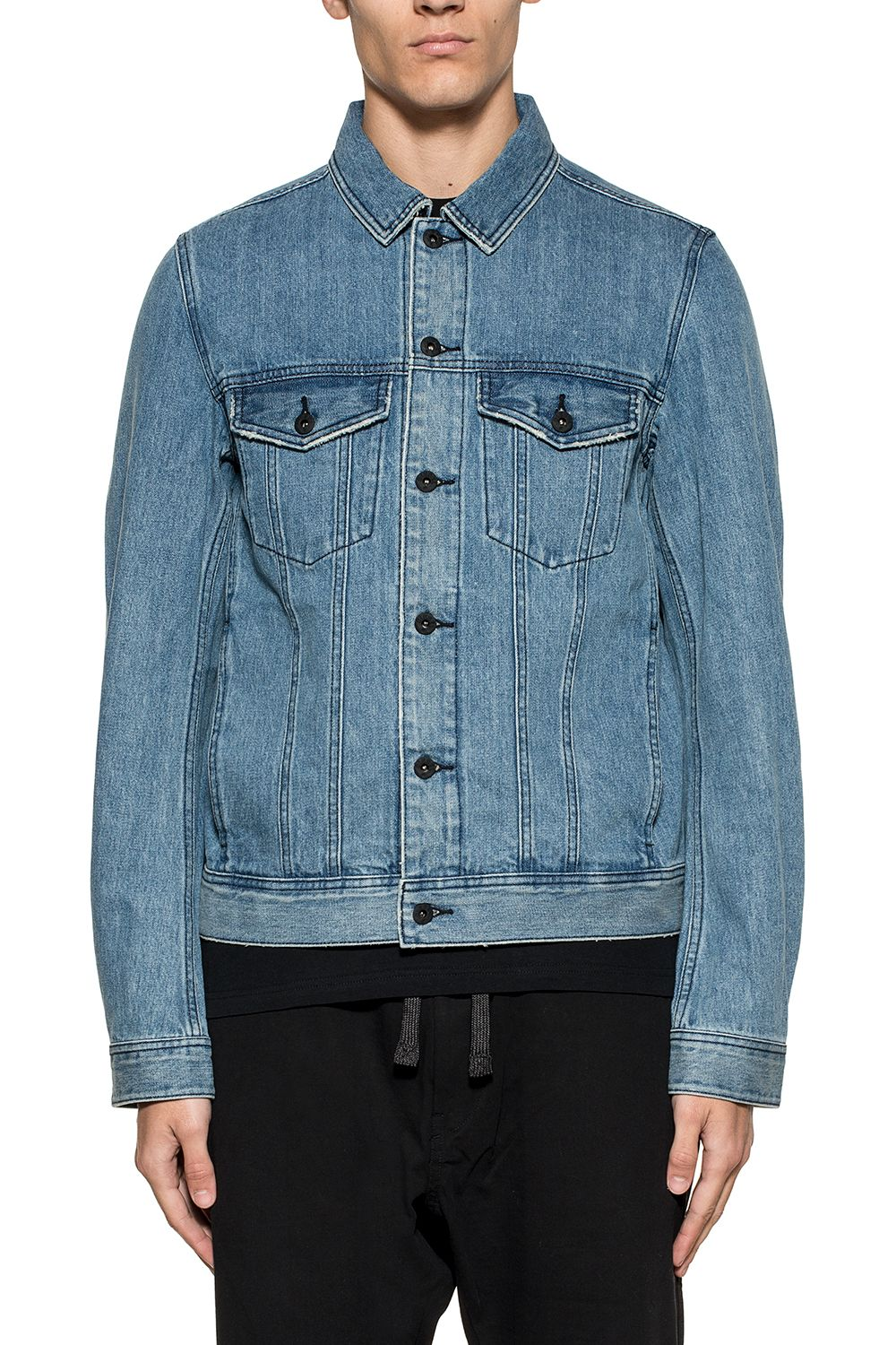 Blue Ashton Denim Jacket