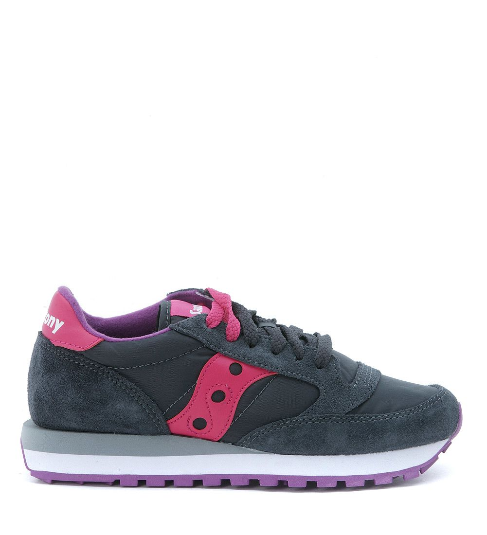 Sneakers Saucony Jazz O In Dove Grey Suede And Nylon
