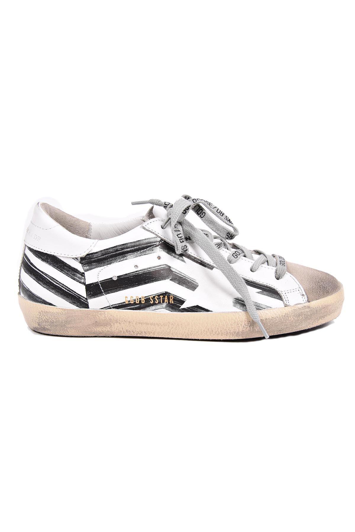 golden goose golden goose superstar white flag sneakers multicolour women 39 s sneakers italist. Black Bedroom Furniture Sets. Home Design Ideas