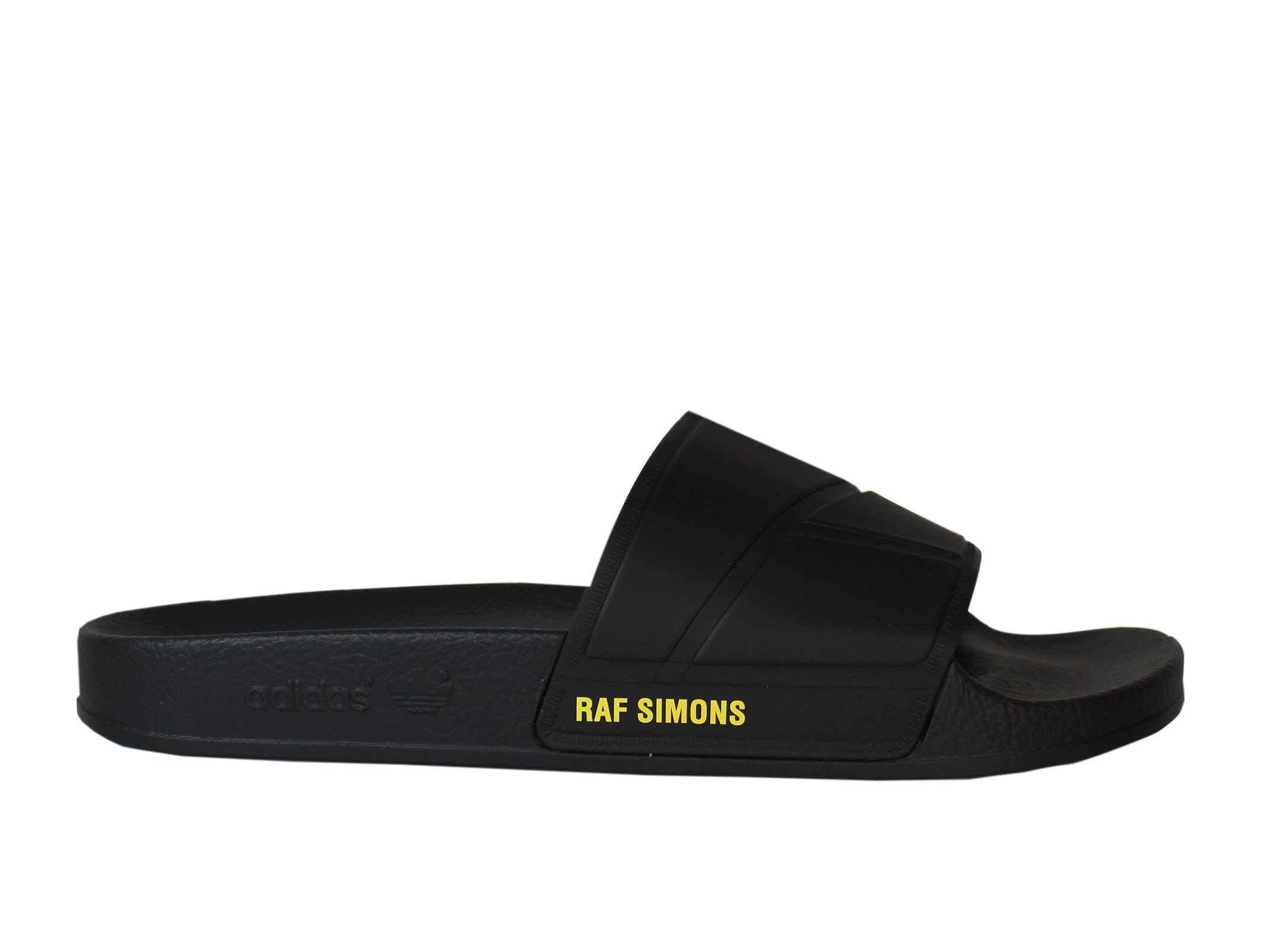 Adidas By Raf Simons Adilette Black Sandals