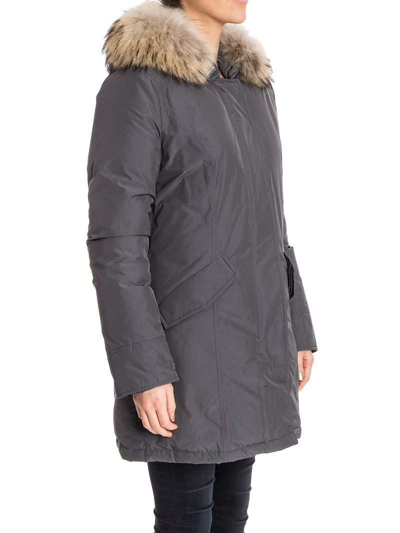 woolrich woolrich luxury arctic parka gray women 39 s coats italist. Black Bedroom Furniture Sets. Home Design Ideas