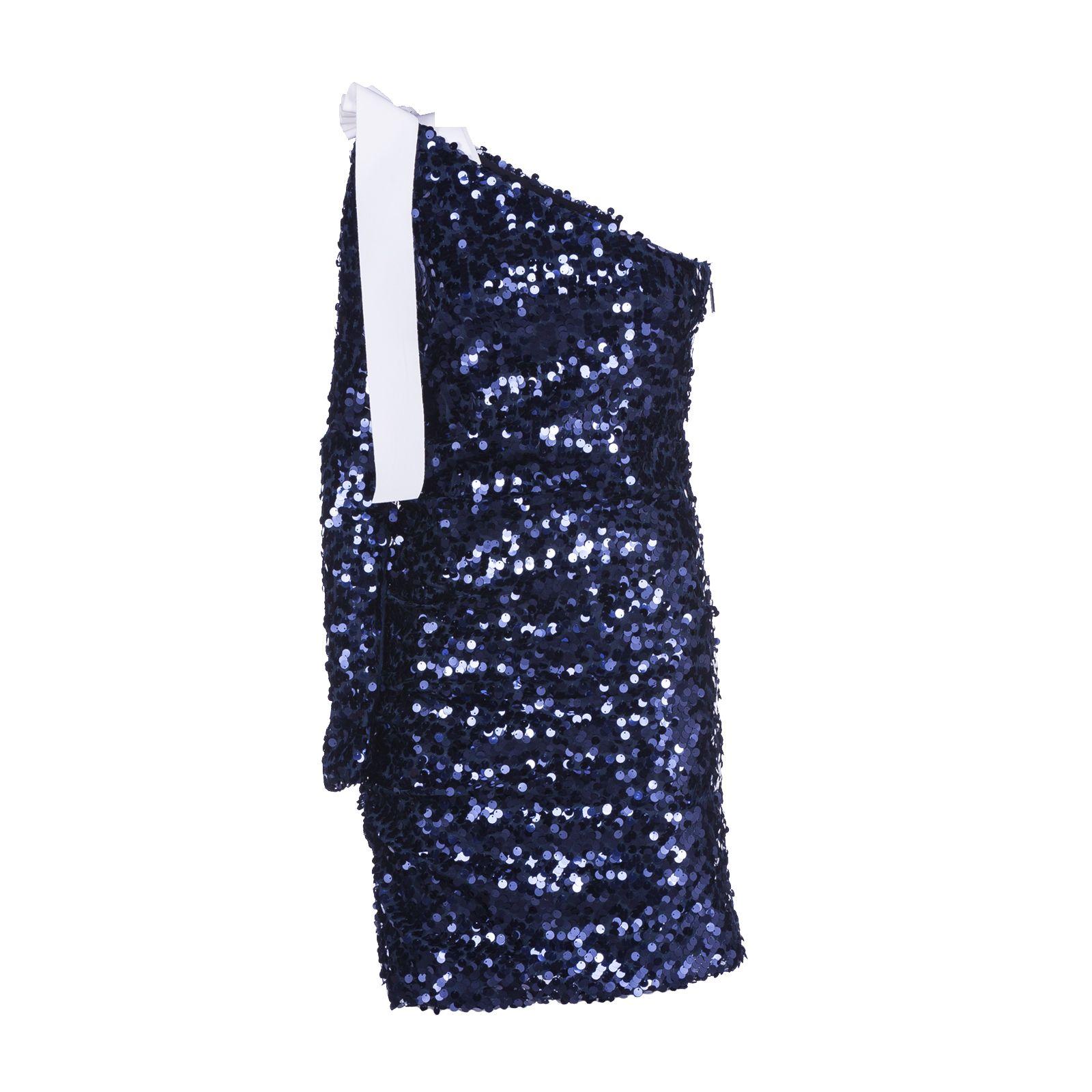 Msgm Paillettes Dress