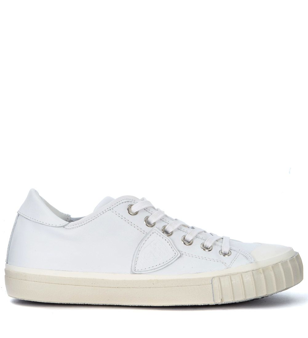 Philippe Model Gare White Leather Sneaker