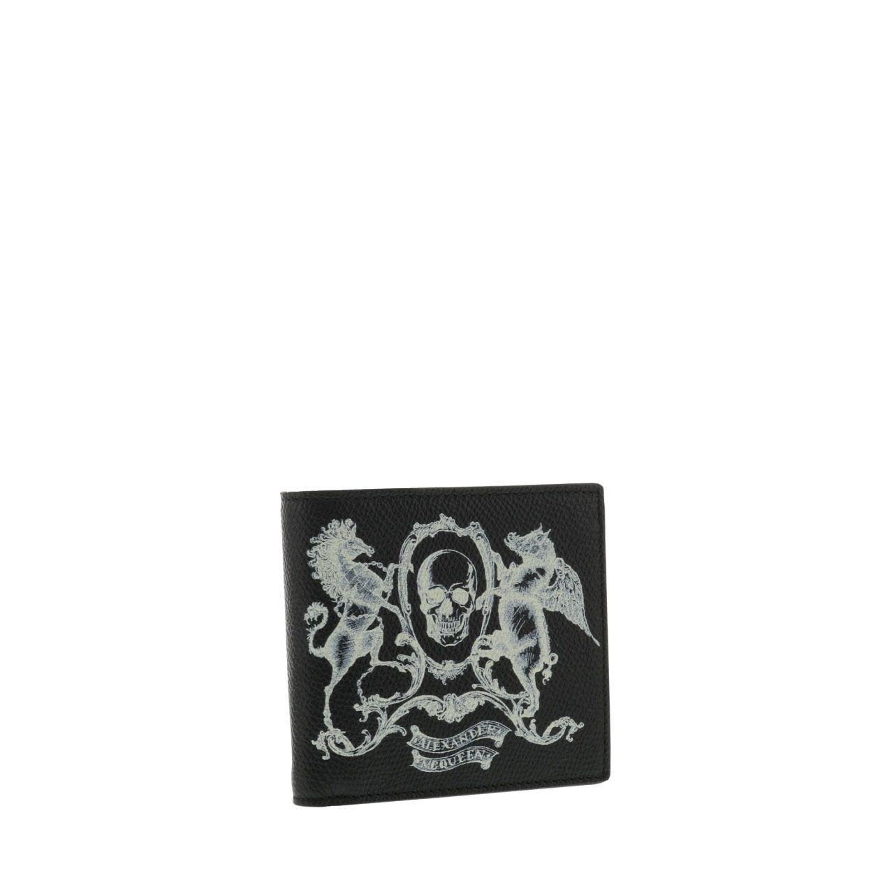 Alexander Mcqueen Heraldic Details Skull Wallet